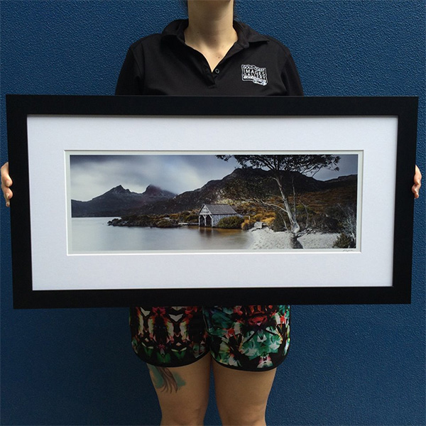 Framed Sample - Dove Lake
