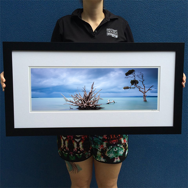 Framed Sample - Moreton Bay