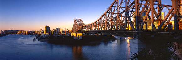 Brisbane Sunrise @ The Story Bridge